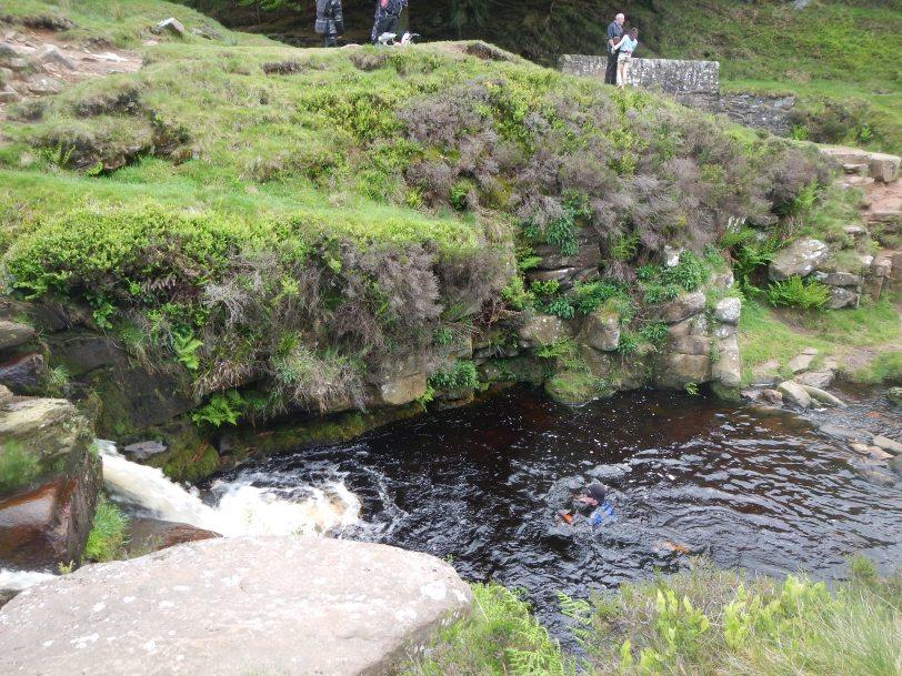 Three Shires Head wild swim